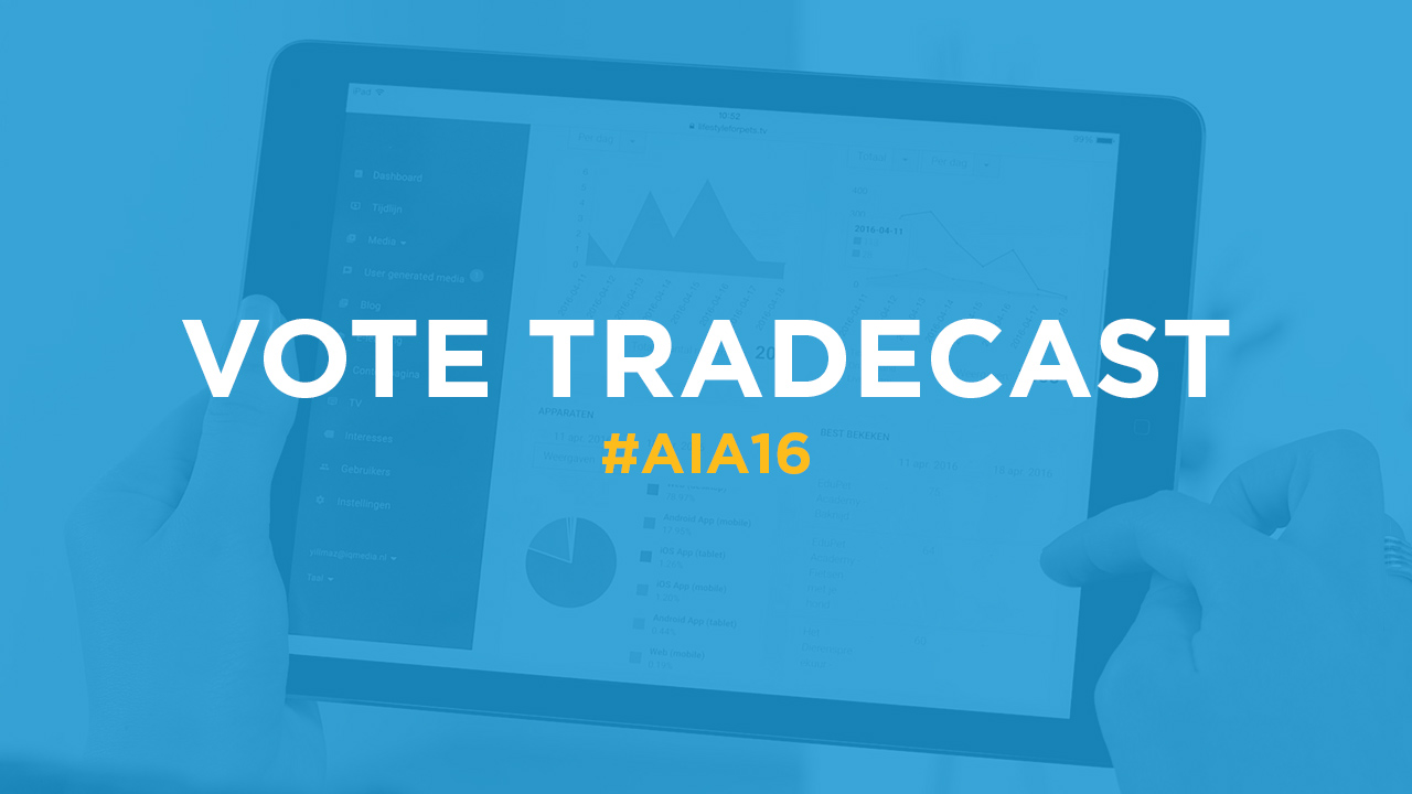 Vote for TradeCast as best Dutch innovation!