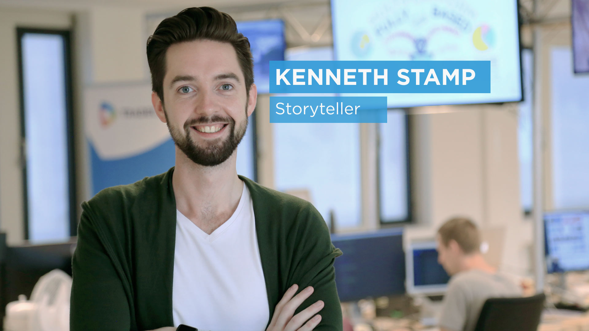 Meet Kenneth, our brand new storyteller at TradeCast