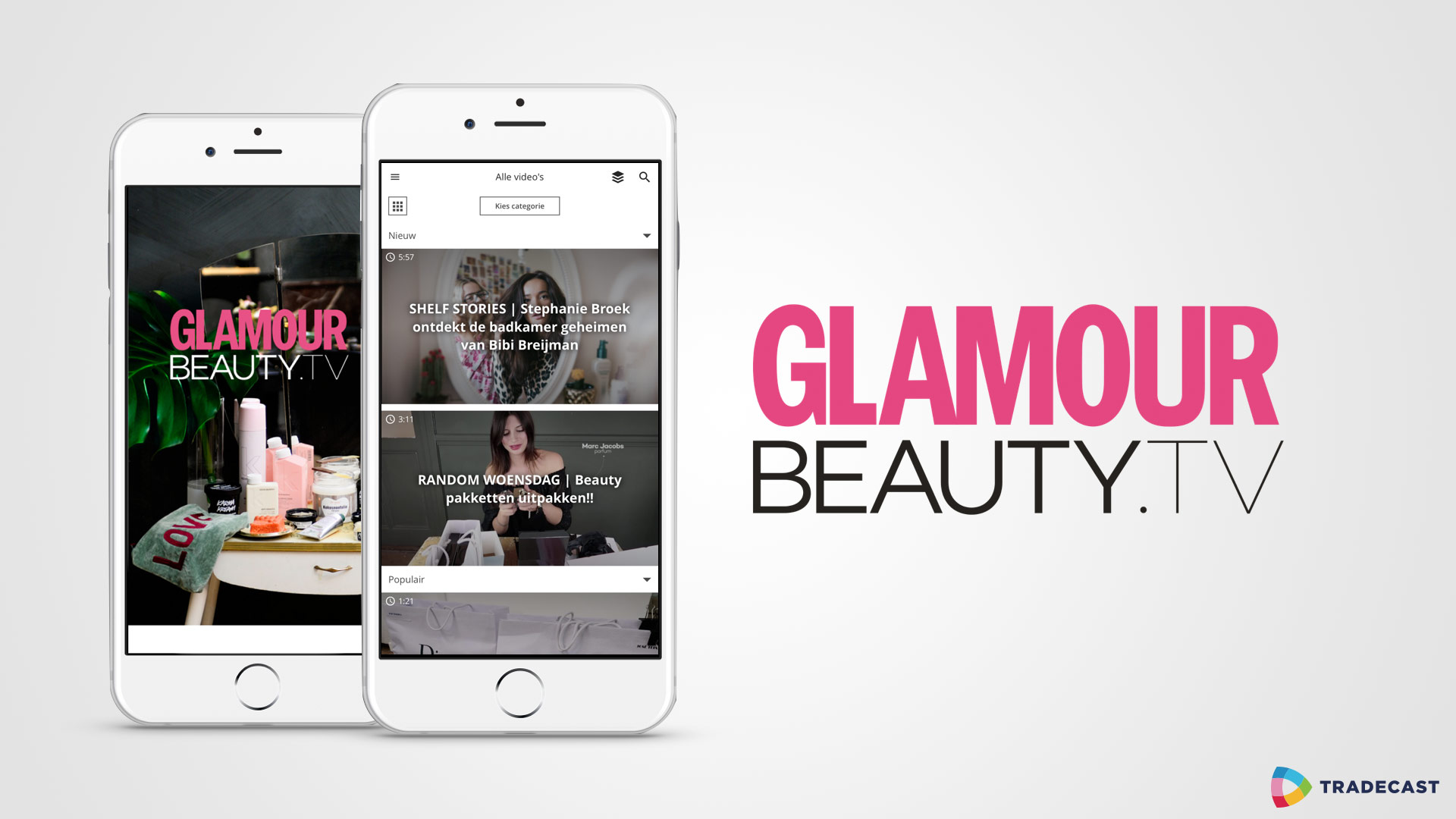 Glamour and TradeCast launch Glamour Beauty TV