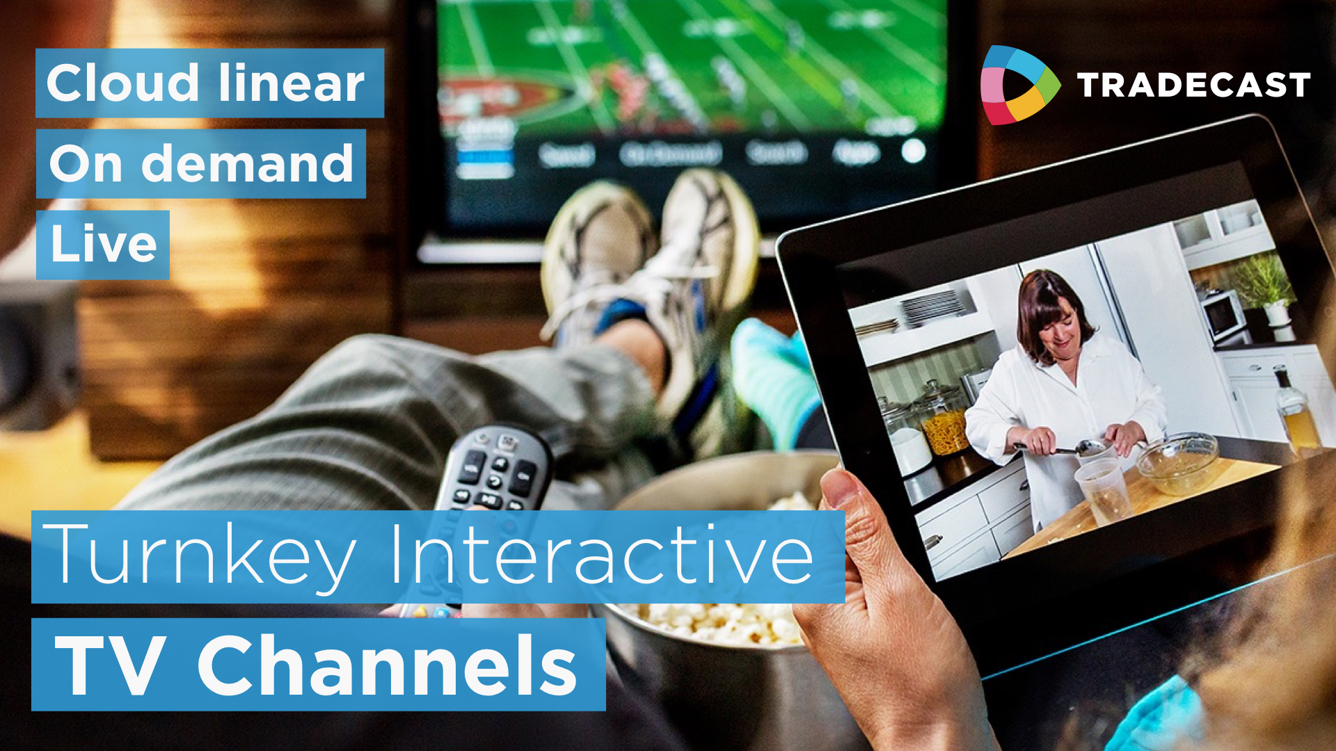 2 million for further growth of Dutch cloud television pioneers TradeCast.tv